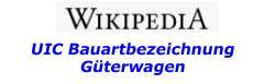 Wikipedia UIC Bauart Gueterwagen