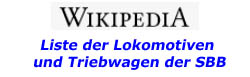 Wikipedia Triebfahrzeuge SBB